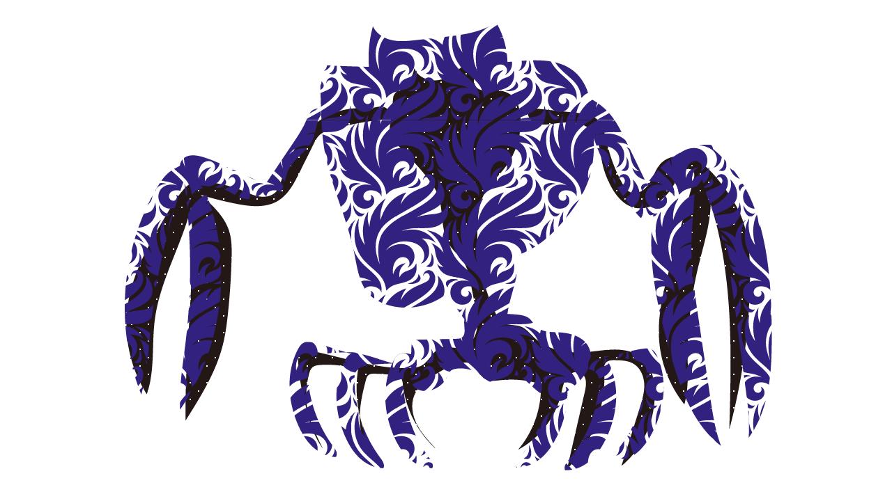 大蟹型クリーチャー